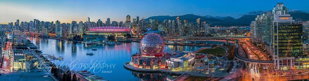 Vancouver Science World Twilight
