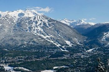 Whistler Blackcomb Valley Winter WB075A
