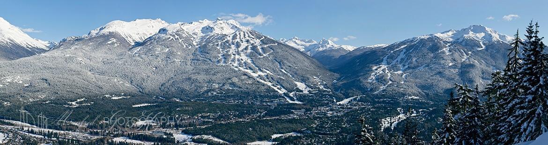 Whistler Blackcomb Valley Winter WB075A