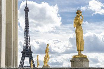 Golden Statues Trocadero_9163_ws
